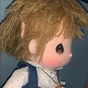 """Precious Moments Other - Precious Moments Applause Boy Doll FLIPPY 1985 14"""""""